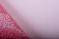 Бумага гофрированная простая - вишневый 586