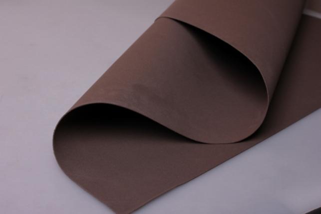 Фоамиран 021 - DARK BROWN (тёмно-коричневый) 60х70см