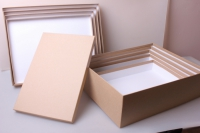 """Набор подарочных коробок из 5шт. """"Прямоугольник №3 КРАФТ""""  Пин03-К"""