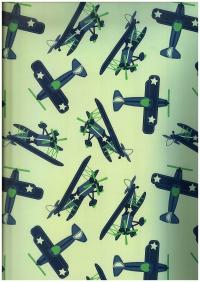 Подарочная бумага ГЛЯНЦ - Военно-воздушные силы (код 100/618)
