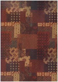 Подарочная бумага КРАФТ - Заплатки (код 203/642)