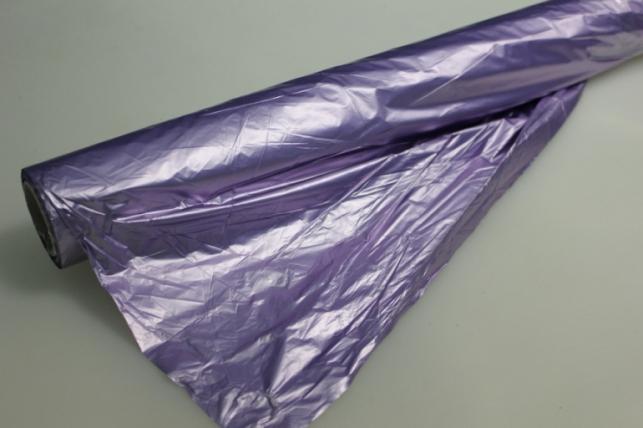 Полисилк металл в рулоне (1м х 50м) Сиреневый