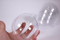 Прозрачные формы - 1505 Шар прозрачный d=12см пластик (5 шт в уп)