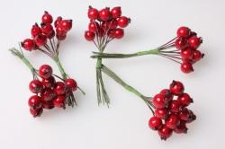 Ягоды красные (12шт по 12 пучков)