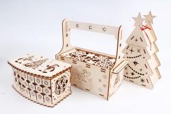 Подарочные коробки из дерева