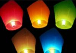 Небесные фонарики