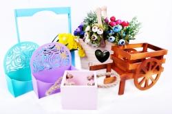 Кашпо из дерева (ящики флористические)