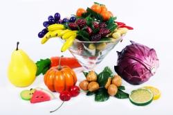Искусственные фрукты овощи