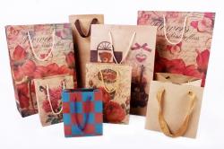 Пакеты подарочные КРАФТ