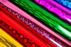 Пленка для цветов - Голография 0.7 в рулонах