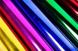 Пленка для цветов - Цветной металл 0.7 в рулонах
