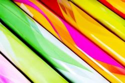 Плёнка для цветов - Пламя 0.7 в рулонах