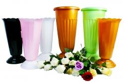 Вазы пластиковые