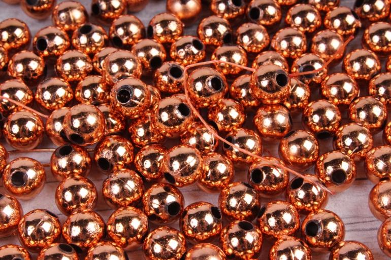 Бусины (А) металл старое золото  в пакете 100гр