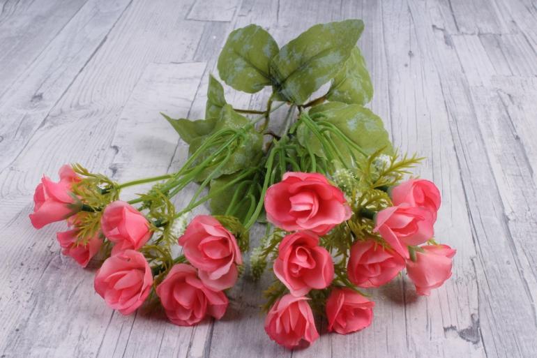 Искусственное растение - Роза ниспадающая коралловая