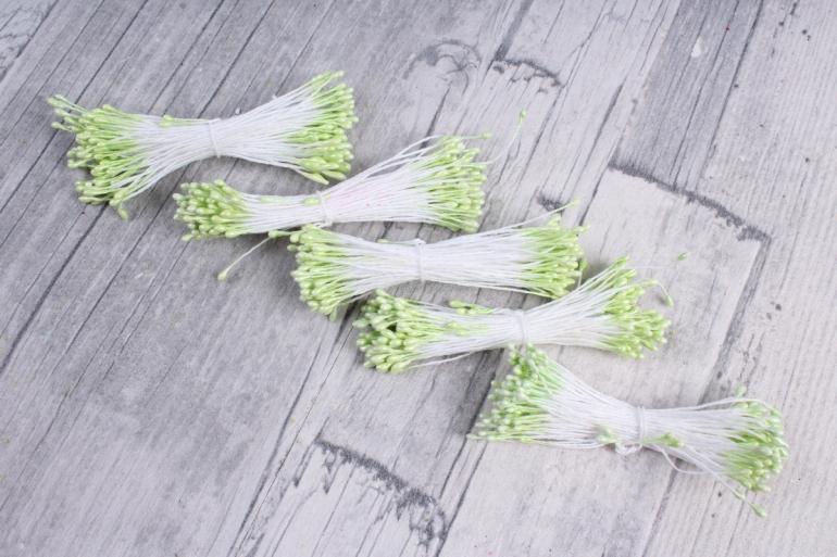 Тычинки фоам салатовые 2 мм (380 шт)