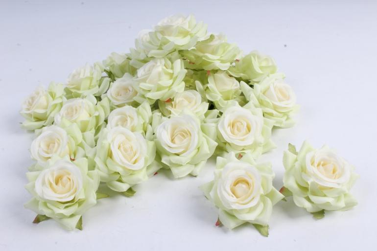 Головка Розы Шампань ( в уп. 24 шт)  d=5см   ART117  7105