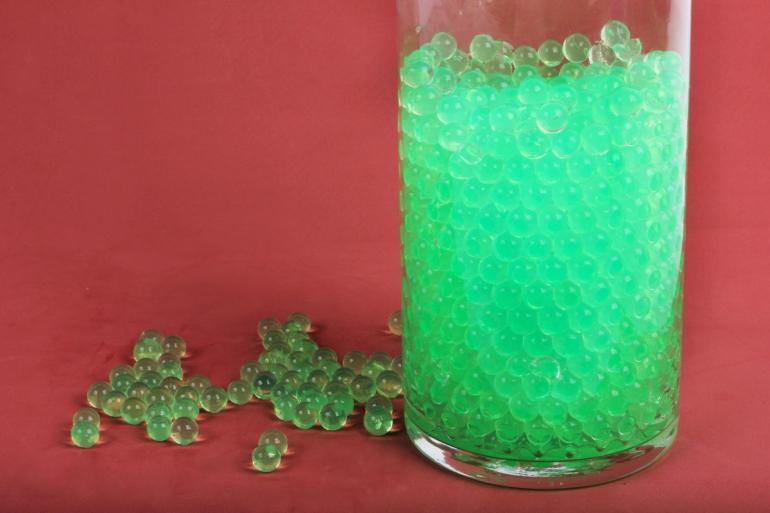 """Гидрогель """"Волшебные жемчужены"""" светло-зеленый (d=1.5-2.5мм) GH-41158"""