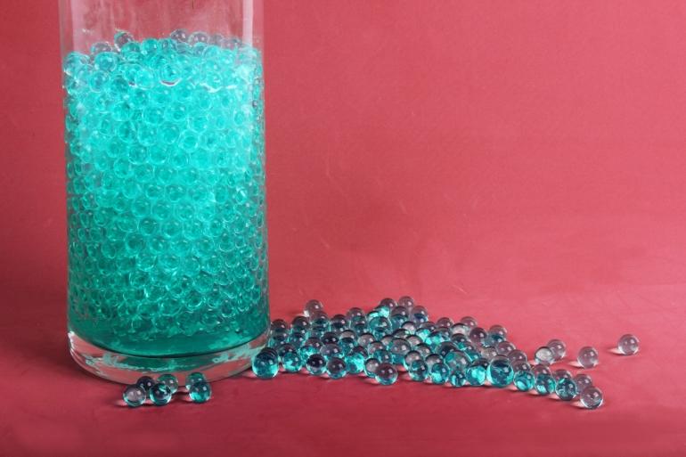 """Гидрогель """"Волшебные жемчужены"""" темно-зеленый (d=1.5-2.5мм) GH-41158"""