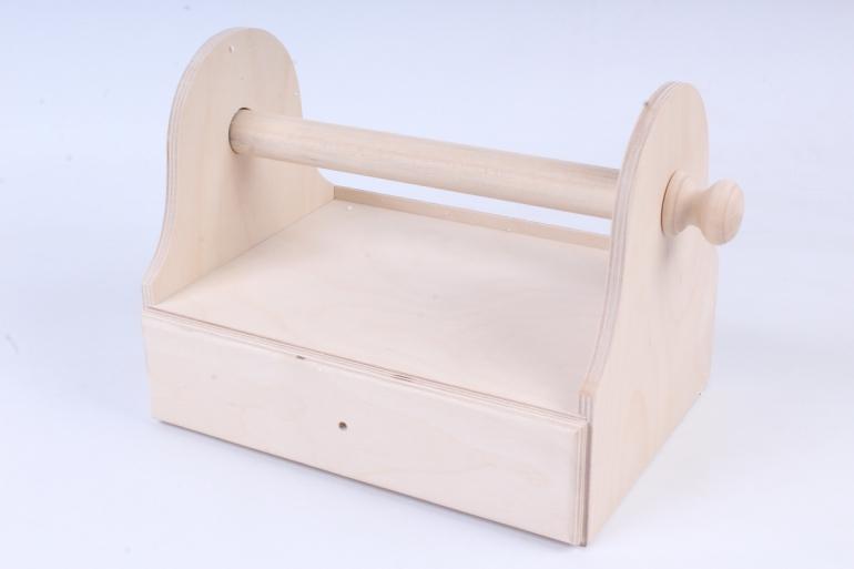 Деревянная заготовка - Подставка под полотенца вертикальная
