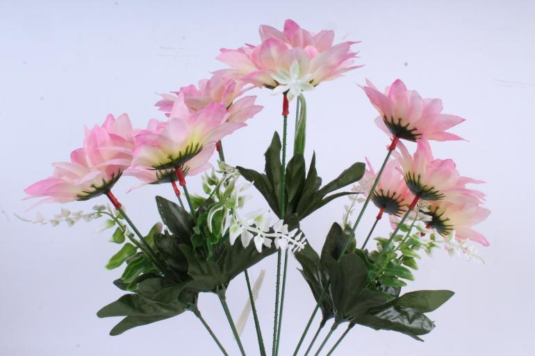 Искусственное растение - Герберы нежно-розовые