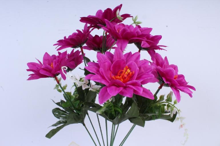 Искусственное растение - Герберы пурпурные