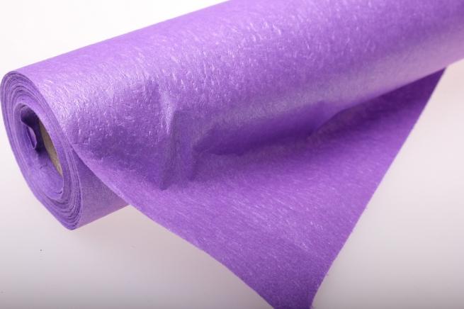 бумага водостойкая аксессуары для флористов - бумага водостойкая для цветов 60х10м - сиреневый 2342