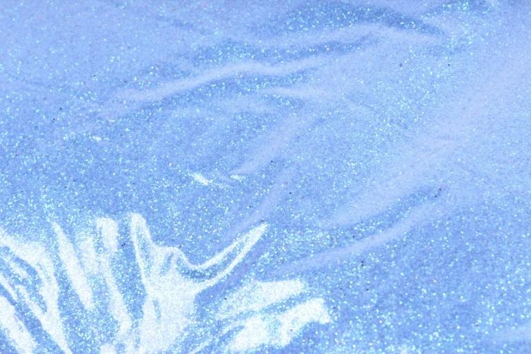 Блестки цветные 1 кг перламутр синий