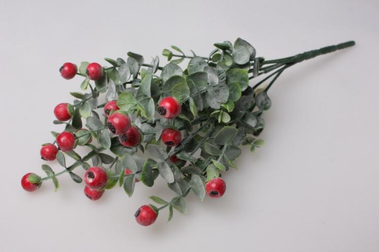 боярышник ветка - искусственные растения 30см 1550