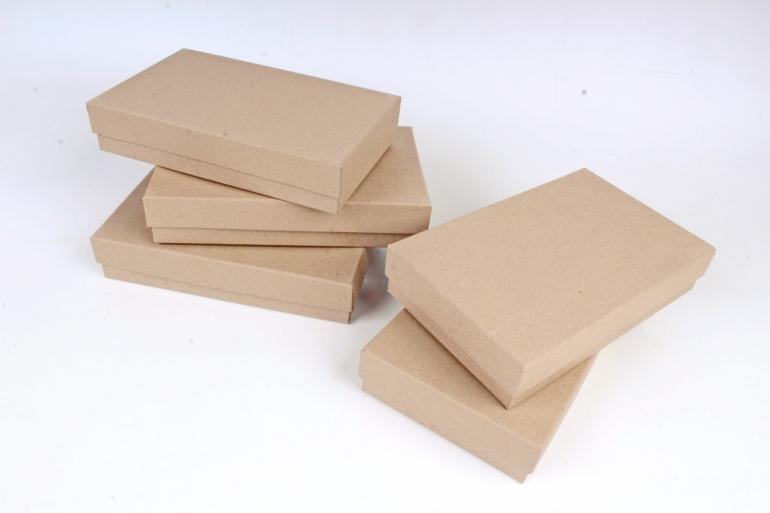 """Брикет коробок из 5 шт """"Прямоугольник КРАФТ""""   Пин22-1-К"""