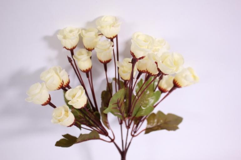 букет цветов роза 30см - шампань kwy566 2471