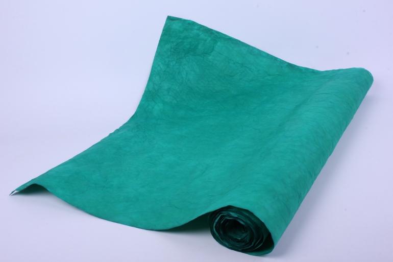 бумага жатая 70см*5 ярд зеленый (26)