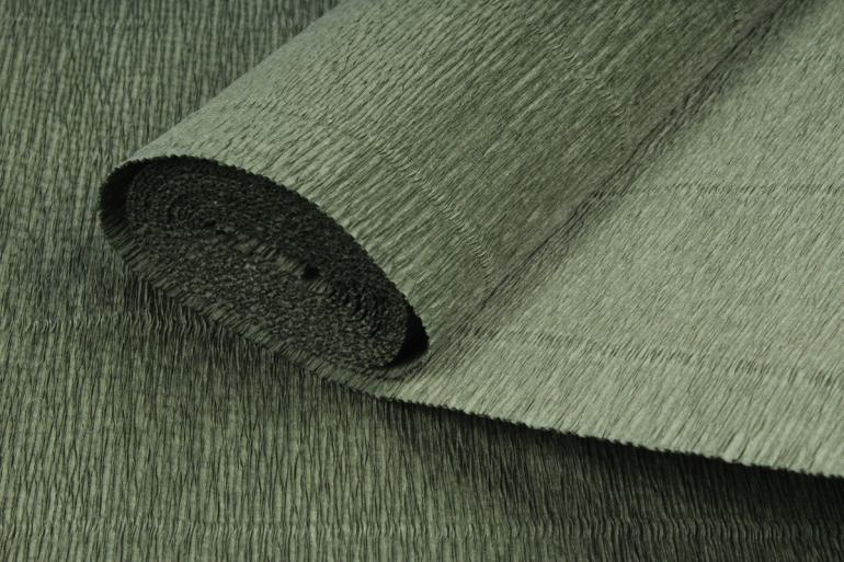 бумага гофрированная простая 17а8/1718 оливковый