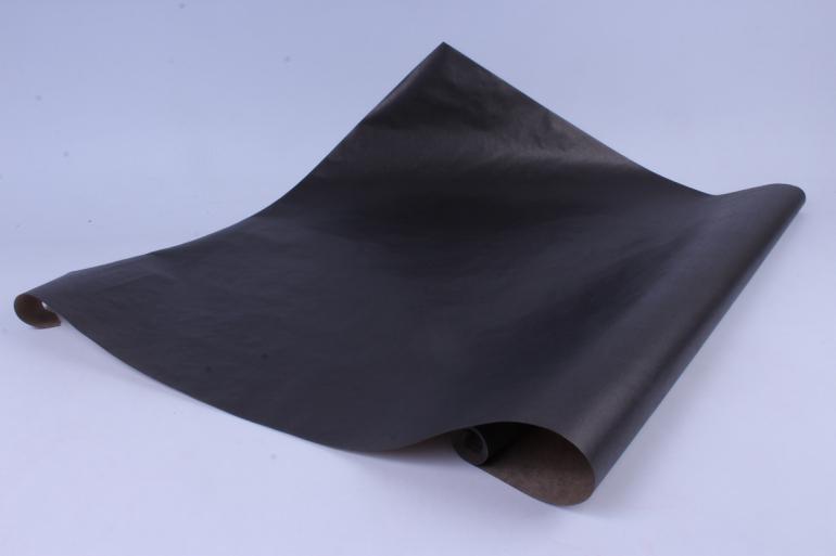бумага  крафт цветочная черная 70см*10м  40г/м2    32521пу   м