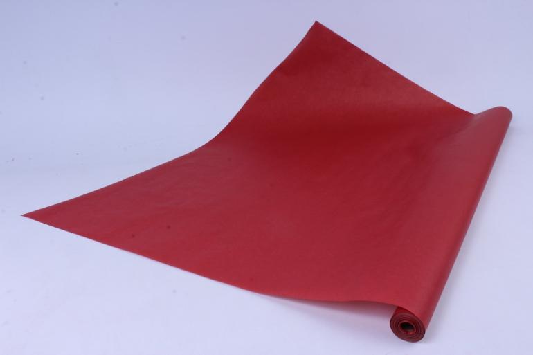 бумага  крафт цветочная красная 70см*10м  40г/м2    32518пу   м