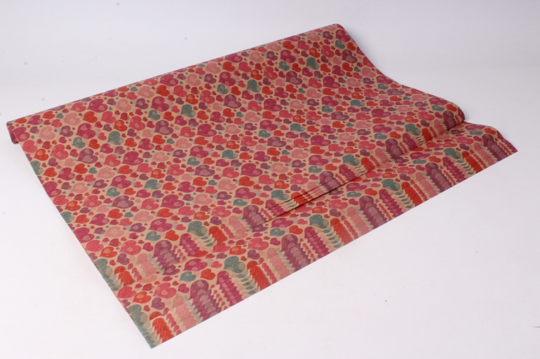 бумага  крафт днк  0,7*1м (10 лист.) 78г/м2  м