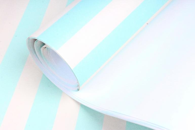 Бумага 1м*70см Дизайнерская бумага Полоски Жёлто-Зелёные  78г/м2  10шт/уп  (М)  PinPYG