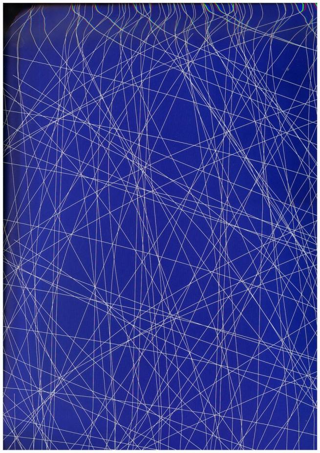 """бумага подарочная глянец 100/613 """"следы от коньков синие"""" 0,7х1м размер листа (10 листов)"""