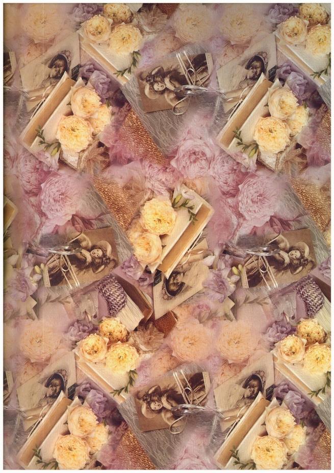 """бумага подарочная глянец """"посвещение"""" 0,7 х 1м ( 10 листов) 100/211"""