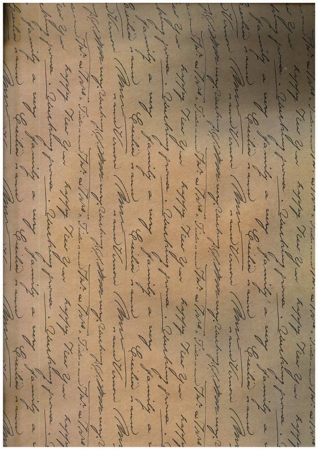 """бумага подарочная крафт 203/657 """"рукописи не горят"""" 0,7х1м в листе (10 листов)"""