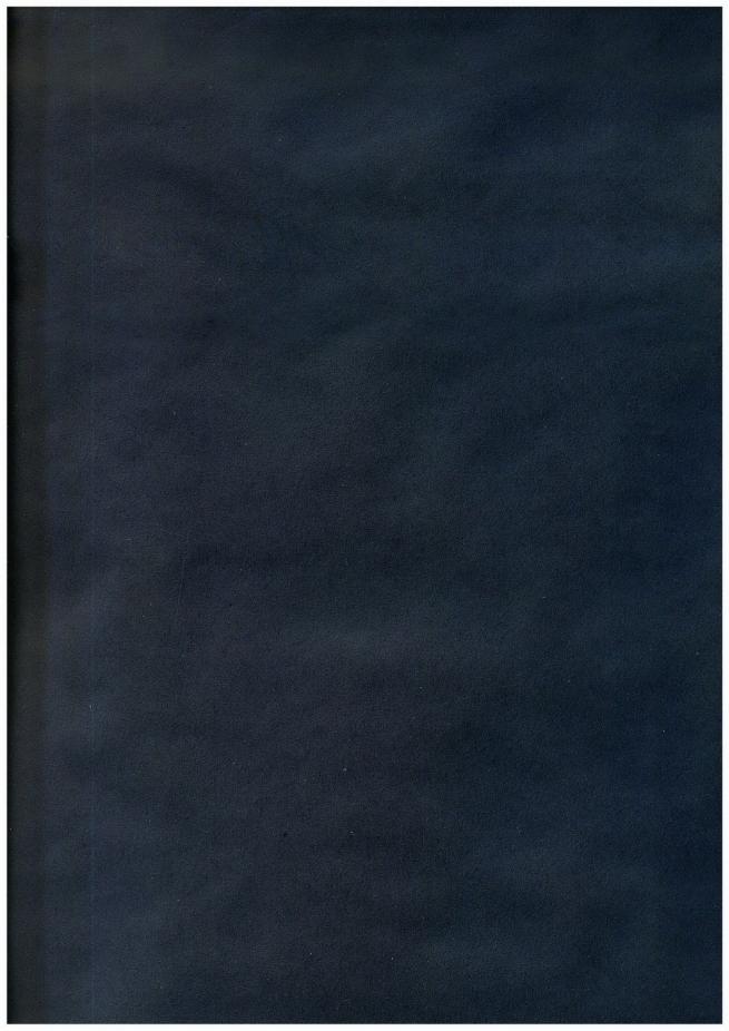 бумага подарочная крафт однотонная синяя 0,7х1м в листе (10 листов)