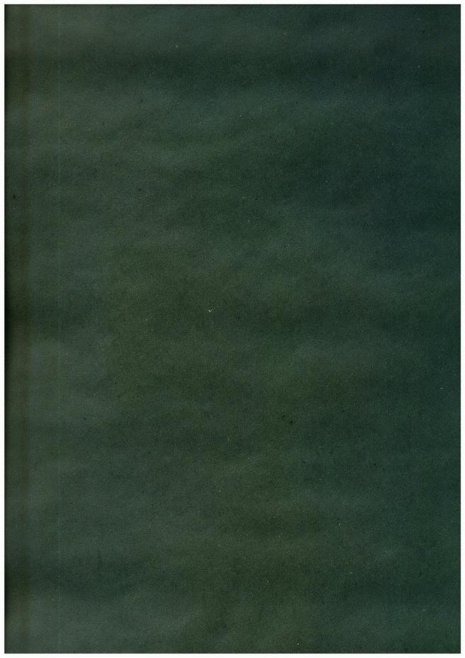 бумага подарочная крафт однотонная зеленая 0,7х1м в листе (10 листов)
