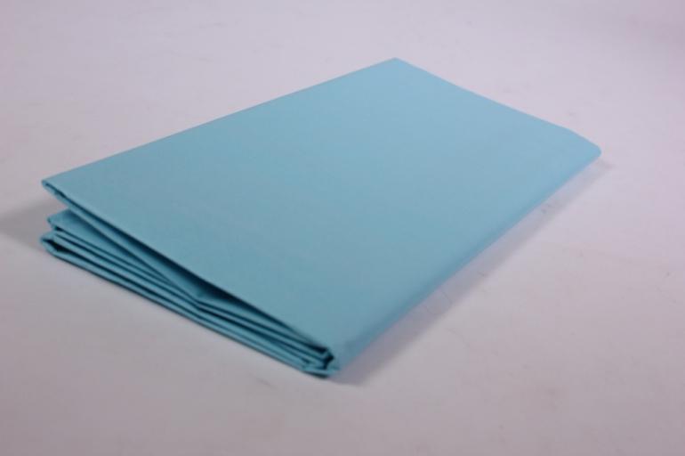 бумага тишью 10 шт 50х66 см, небесно-голубой