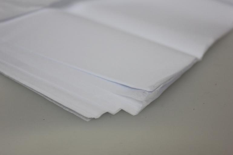 бумага тишью бумага тишью белая 76х50см (10 листов в уп) 7532