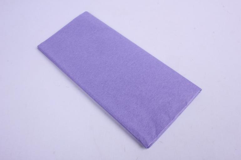 бумага  тишью (ч) сиреневая  50*66см (10 листов в уп)