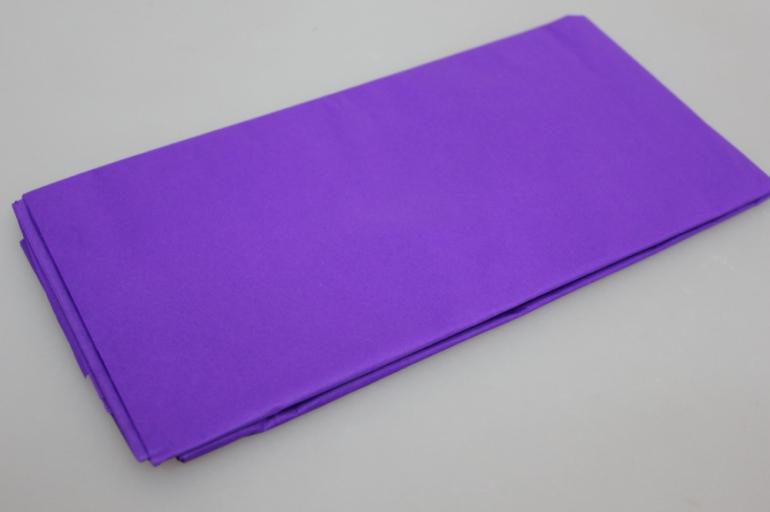 бумага тишью фиолетовая 50х50см (10 листов в упаковке)