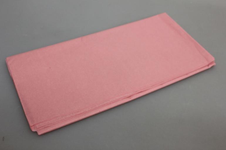 бумага тишью розовая пенка 50х63см (10 листов в упаковке)