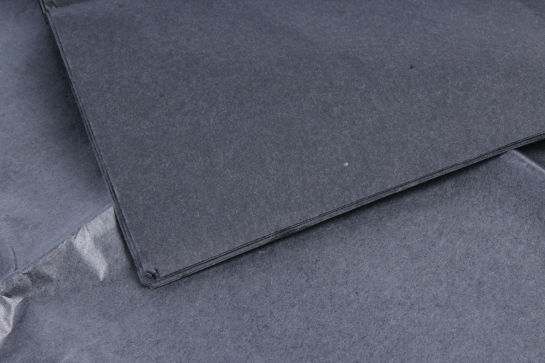 Бумага тишью 51*66см  433 Черный в листах 17гр 10 листов  PTQ433 (М)