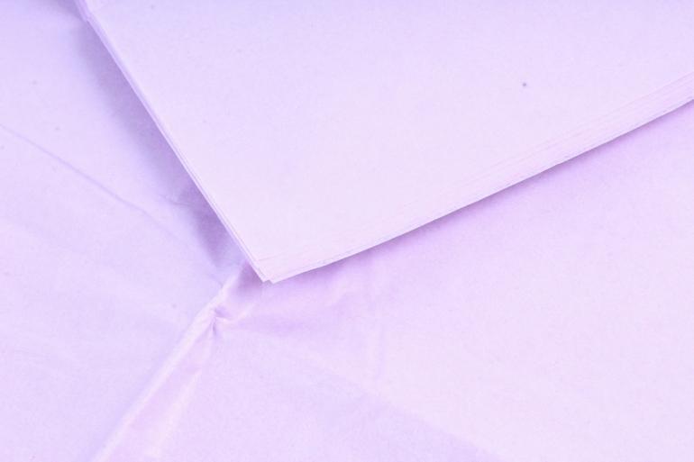 Бумага тишью 51*66см  Лиловая в листах 17гр 10 листов  2563  PTQ2563 (М)