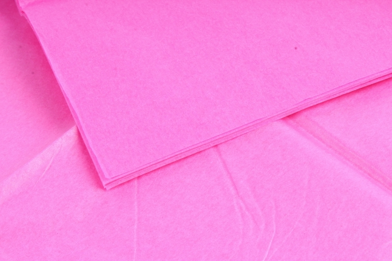Бумага тишью 51*66см  Темно Розовая в листах 17гр 10 листов  2190  PTQ2190 (М)